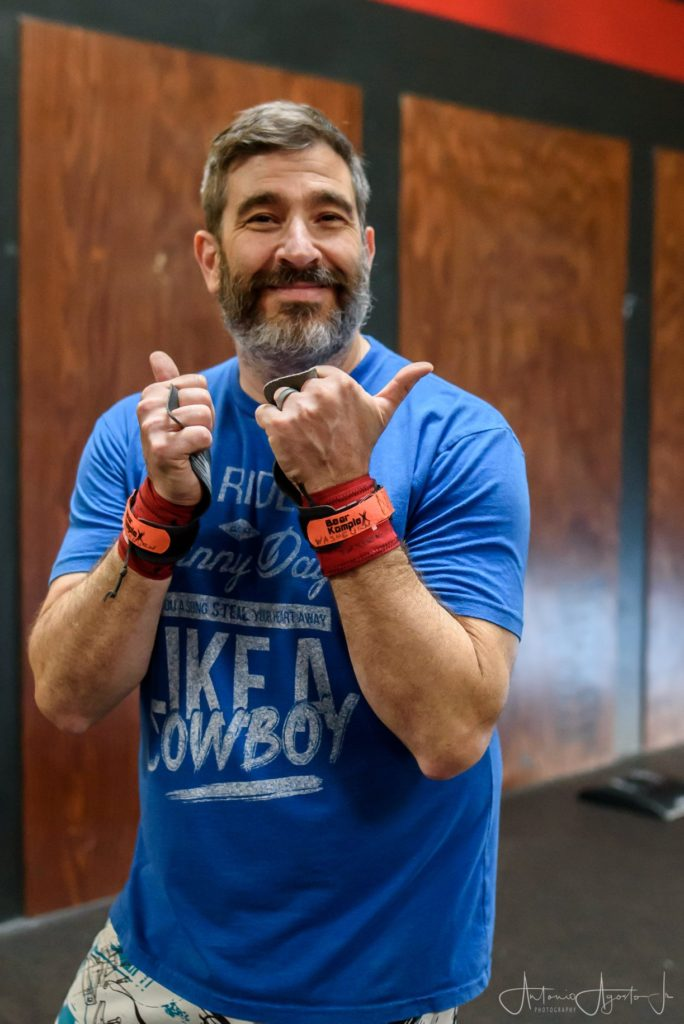 Coach Joey Washburn at CrossFit Roseville