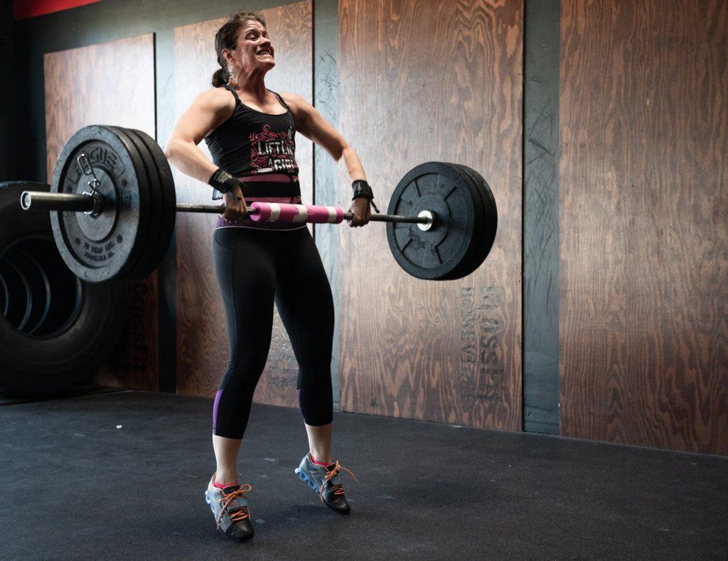 Brandy Rusica at CrossFit Roseville