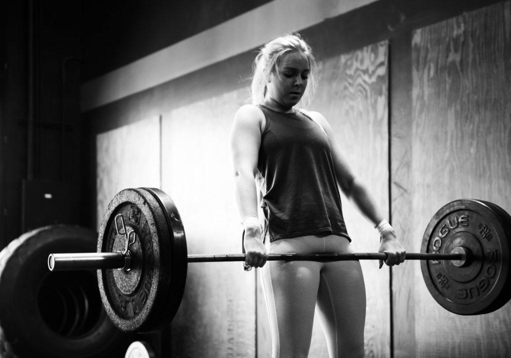 Kaera Jones at CrossFit Roseville