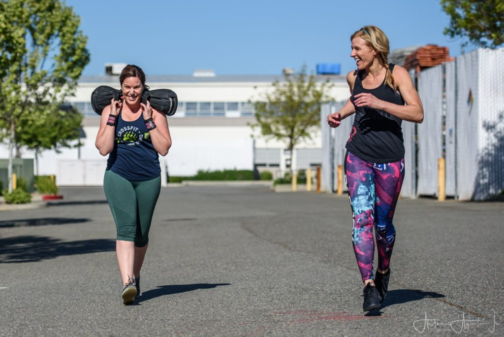 Janet and Mollie at CrossFit Roseville