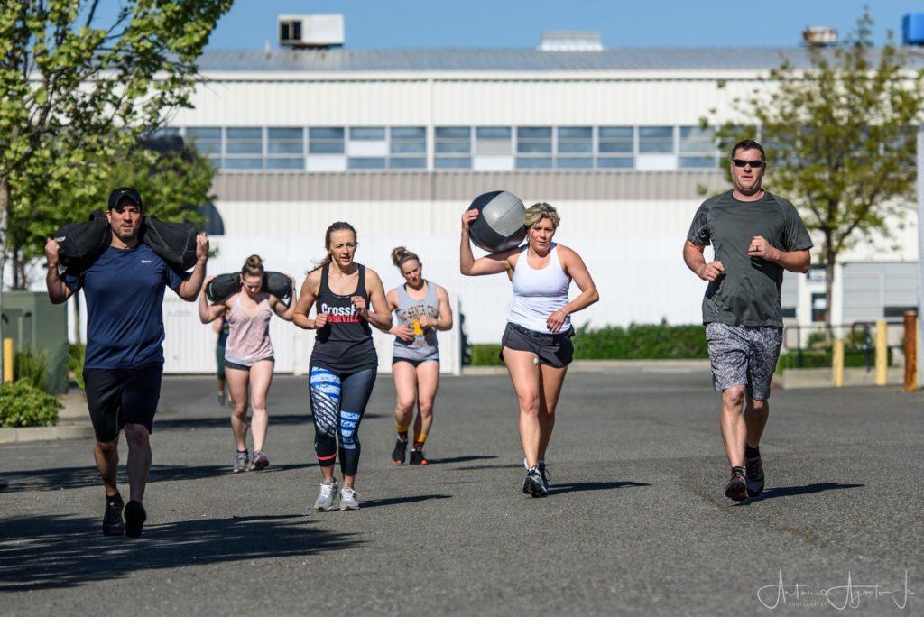 CrossFit Roseville Group Run