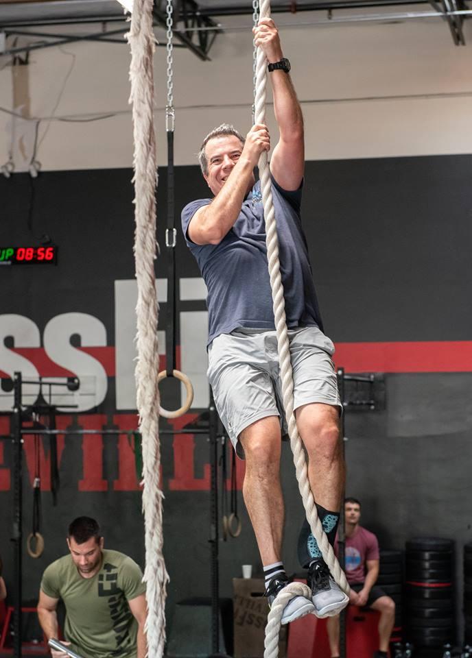Peter Harney at CrossFit Roseville