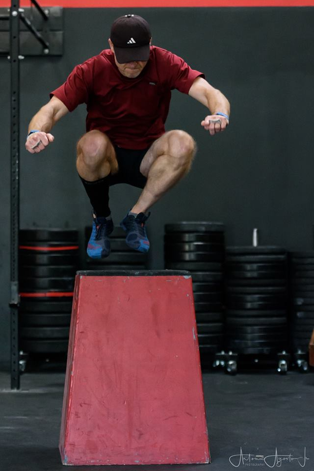 Marc Hollis at CrossFit Roseville