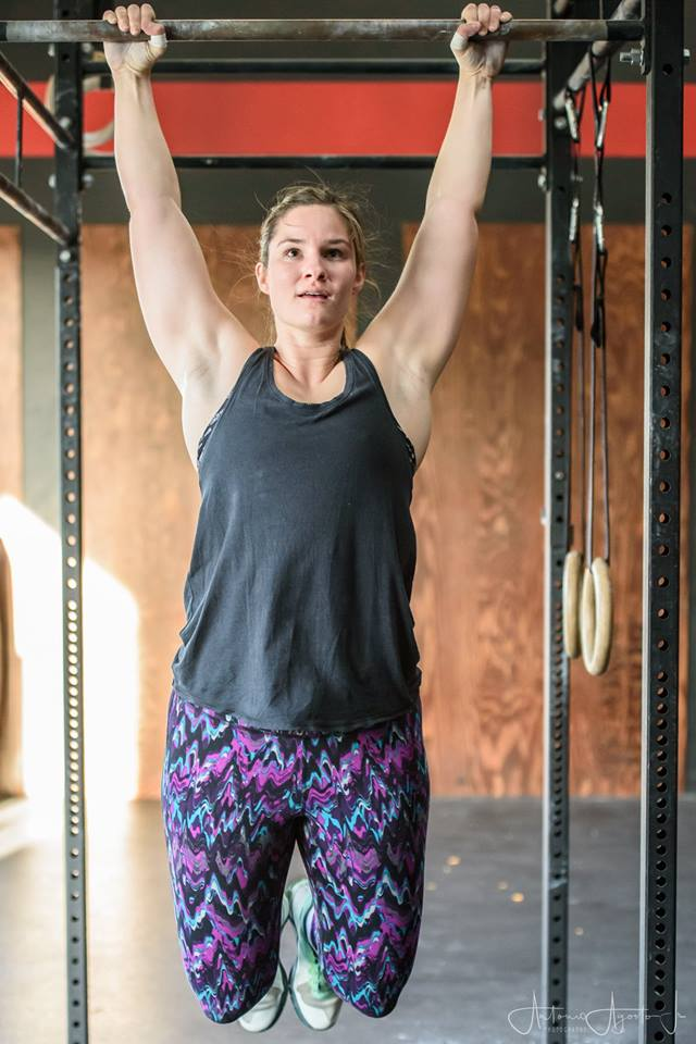 Claire Newman at CrossFit Roseville