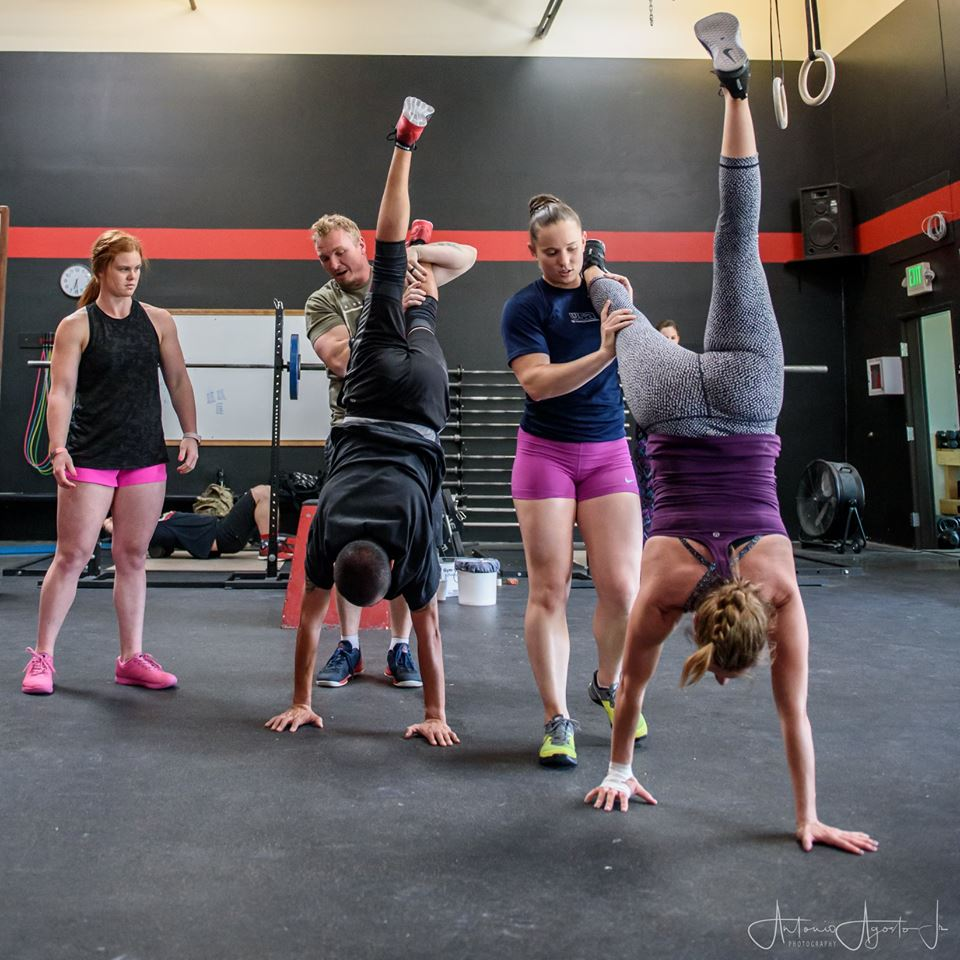 2018 Gymnastics Class at CrossFit Roseville