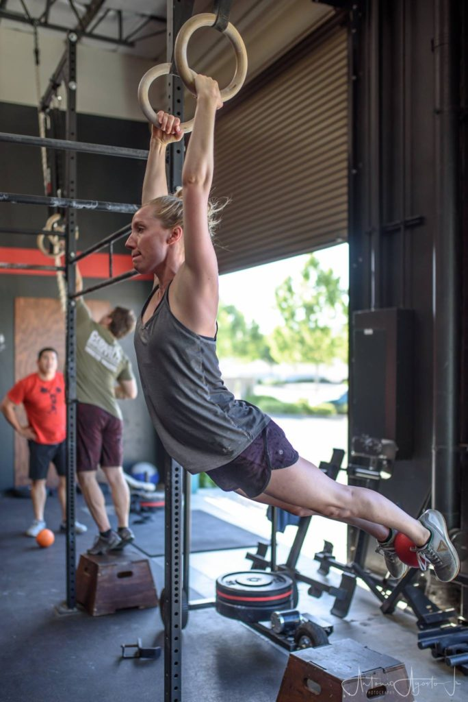 Chelsea Tadena at CrossFit Roseville