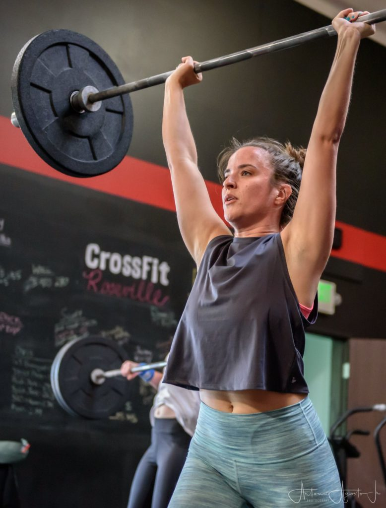 Louise Bell at CrossFit Roseville