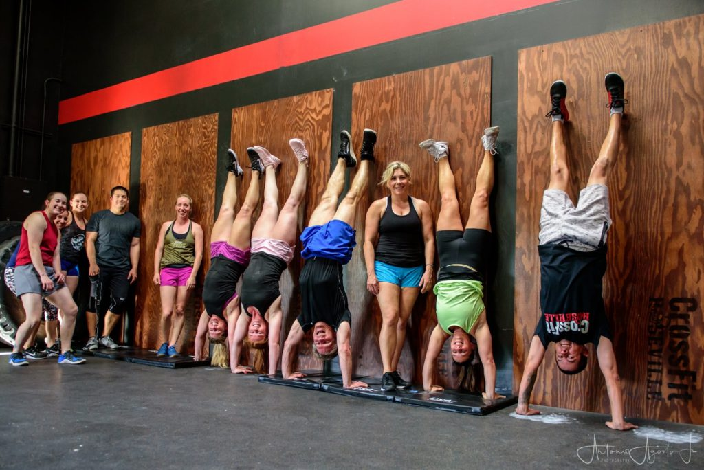 Handstand Class at CrossFit Roseville