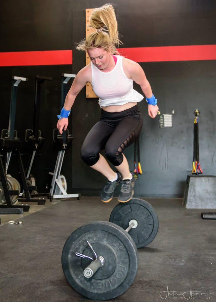 Keara Jones at CrossFit Roseville
