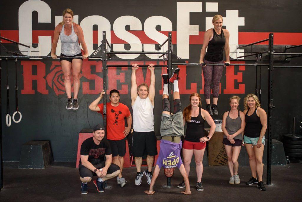 CrossFit Roseville Gymnastics Class