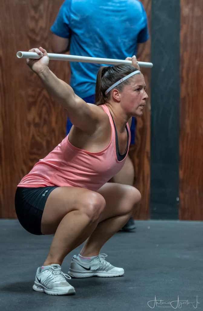 Michelle McDaniele at CrossFit Roseville