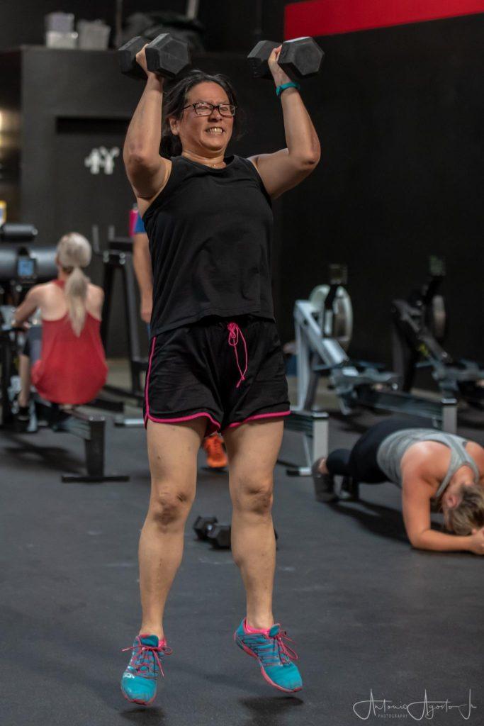 Lois Nakamoto at CrossFit Roseville
