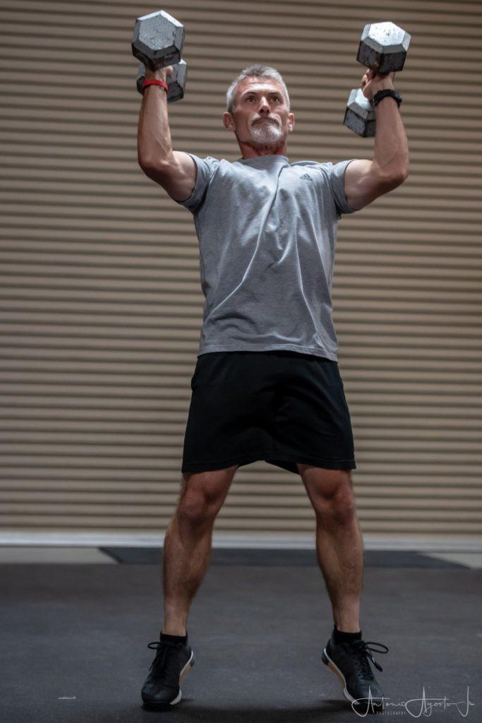 Jim Brown at CrossFit Roseville