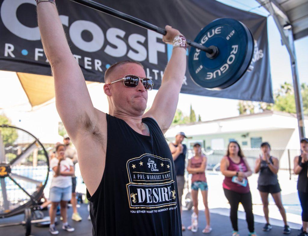 Eric BadAtCrossFit at CrossFit Roseville