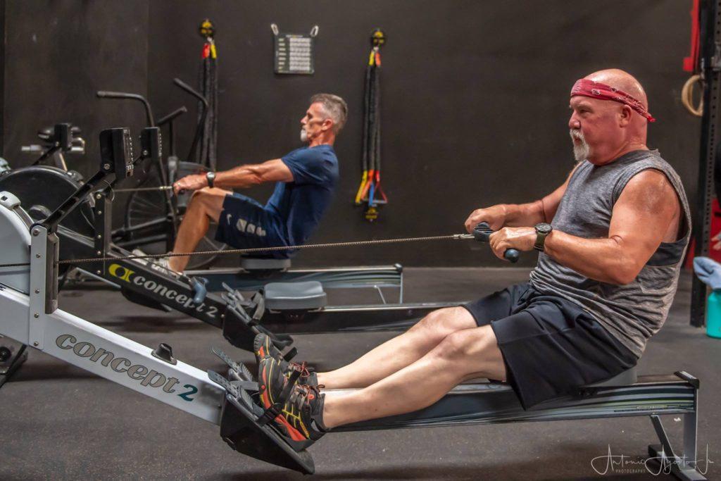Wade & Jim Badasses Dudes at CrossFit Roseville