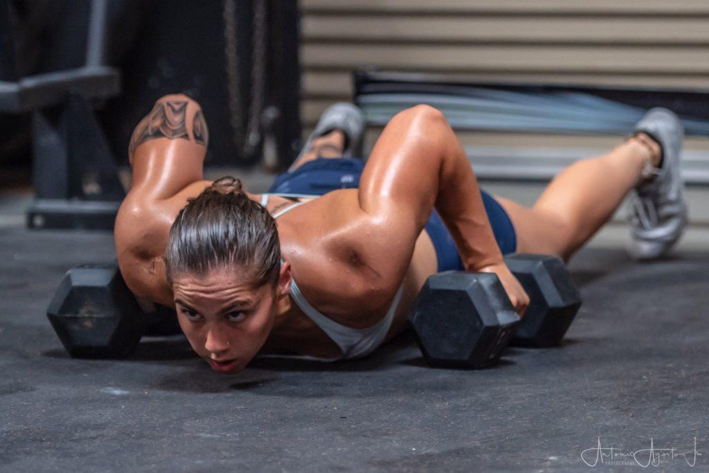 Kelsey Rodriguez at CrossFit Roseville