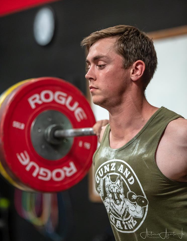 Cody Jones at CrossFit Roseville
