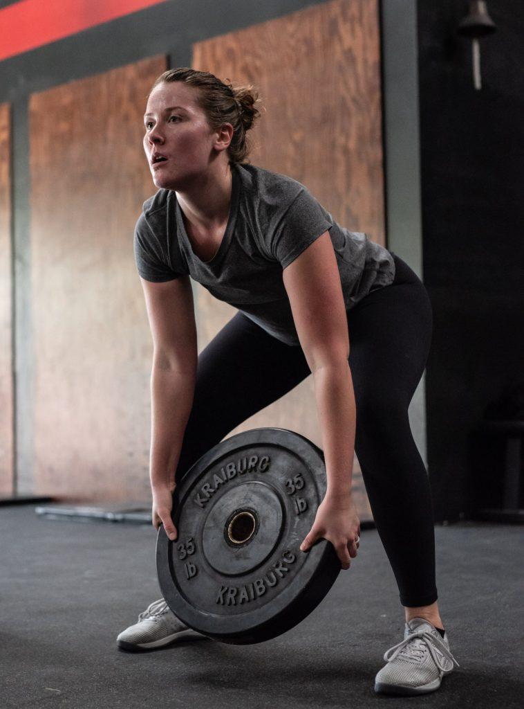 Angela Tilden at CrossFit Roseville
