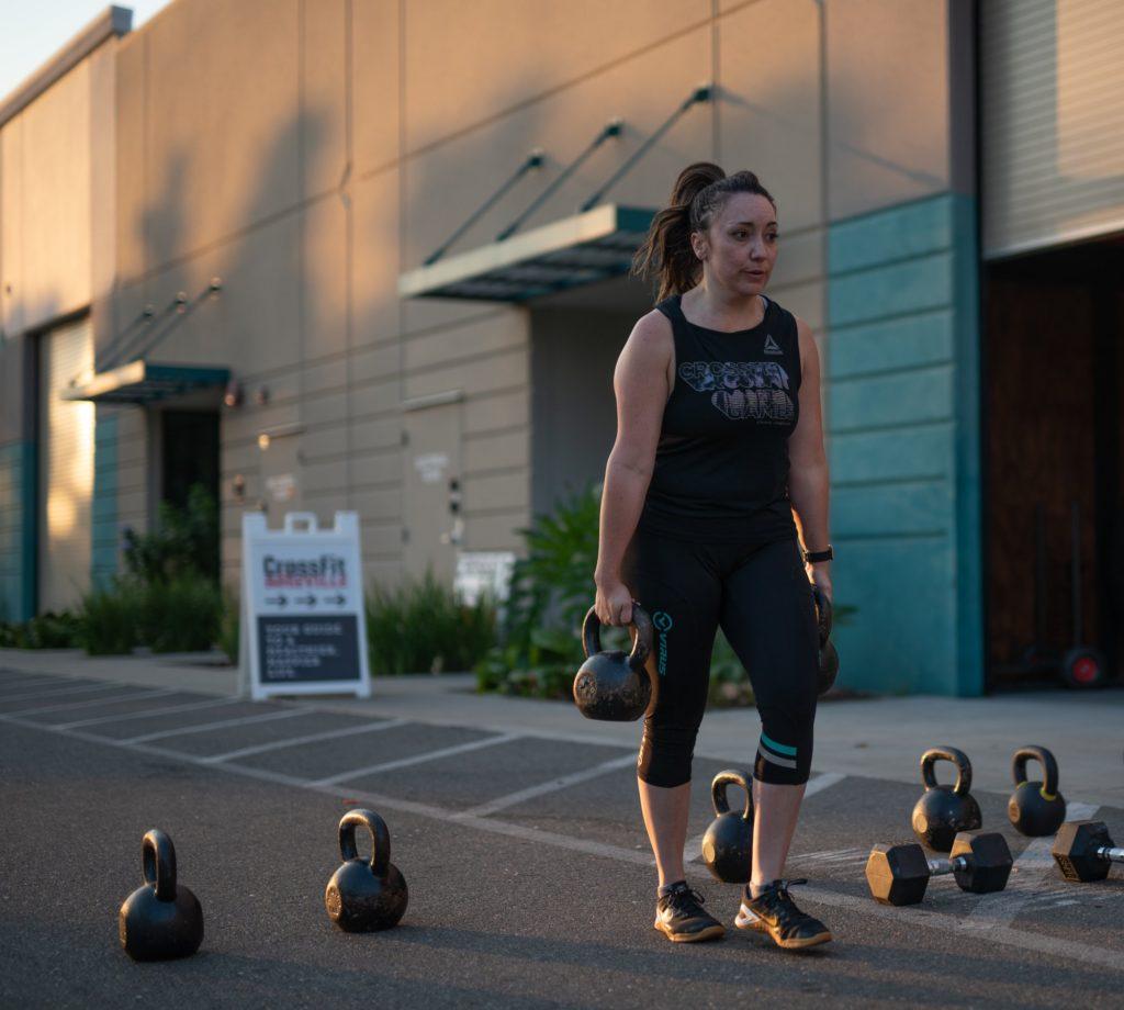 Haley Veturis at CrossFit Roseville