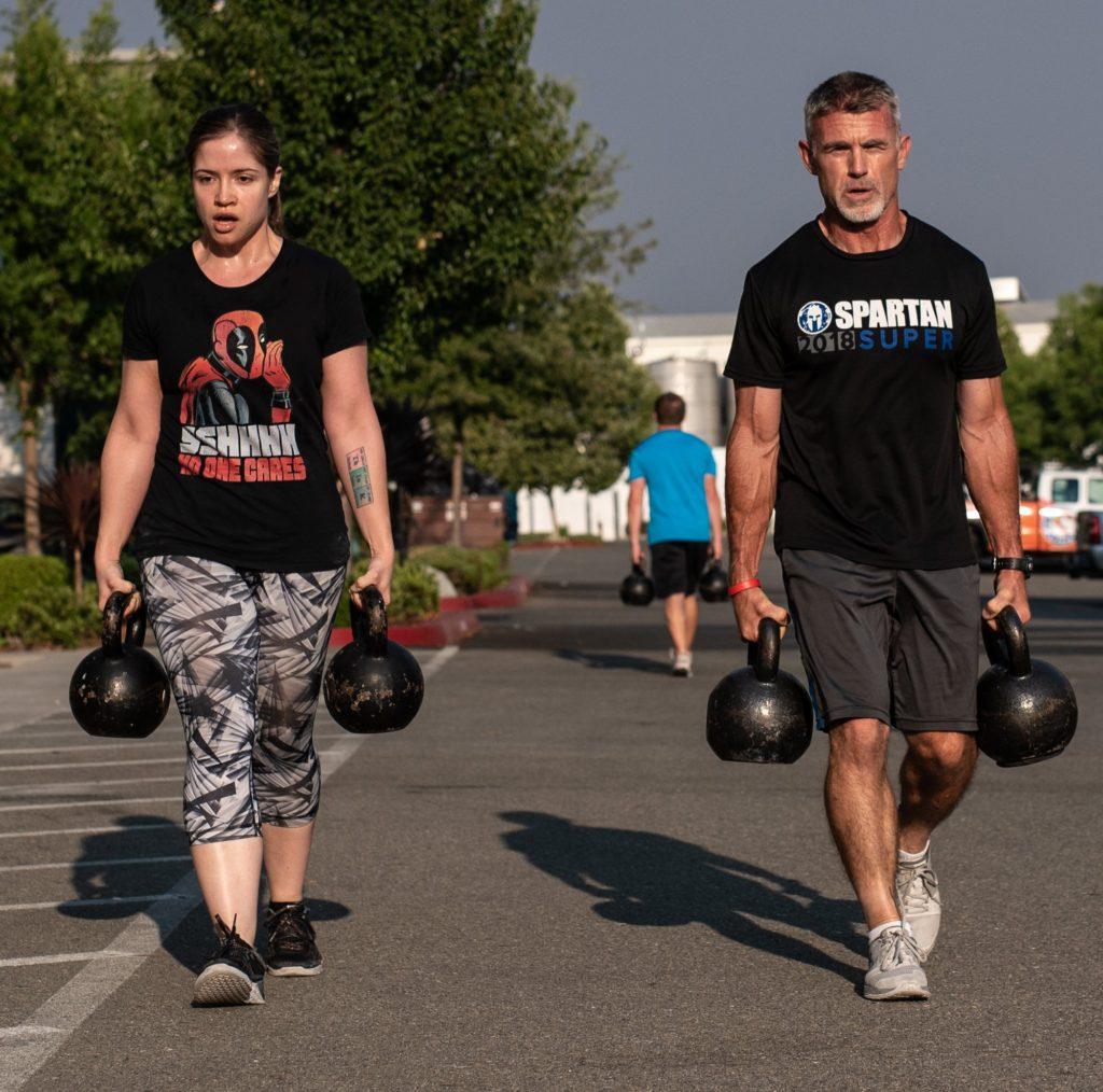 Jim & Shayna at CrossFit Roseville