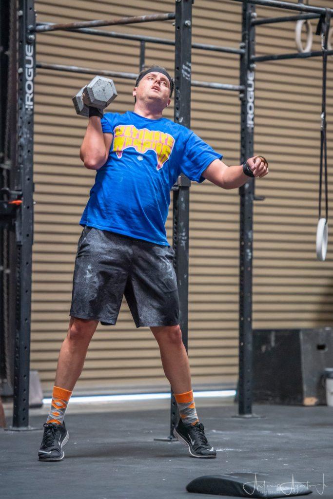 Jeff McEntire at CrossFit Roseville