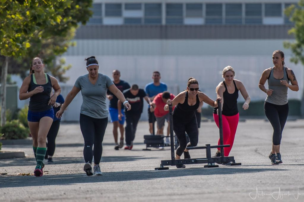 Group Fitness Class at CrossFit Roseville