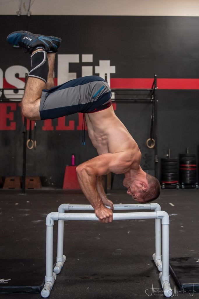 Coach Andrew Niemeyer at CrossFit Roseville