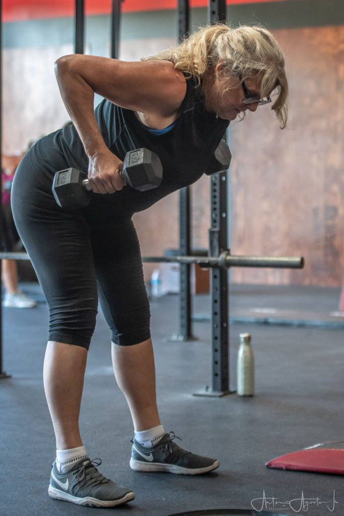 Dana Muchado at CrossFit Roseville