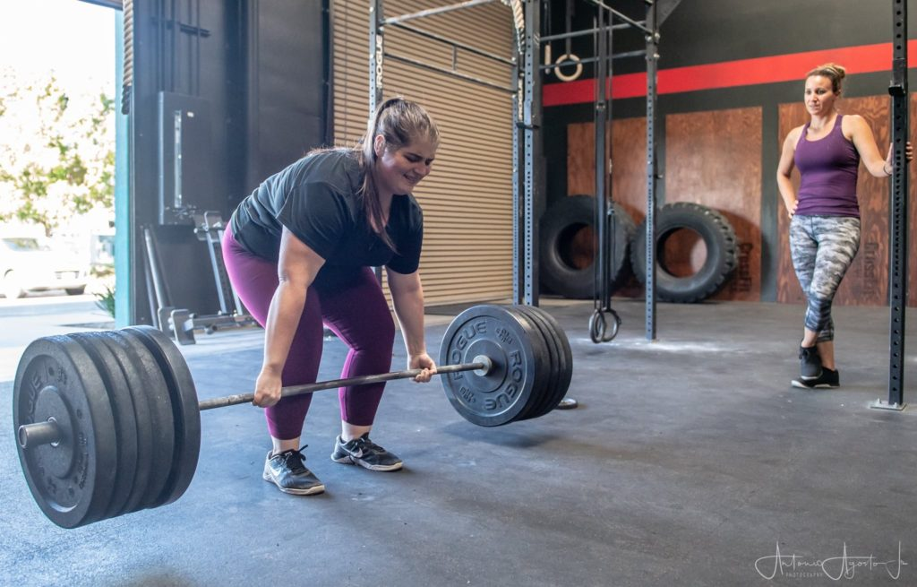 Anna Smith at CrossFit Roseville