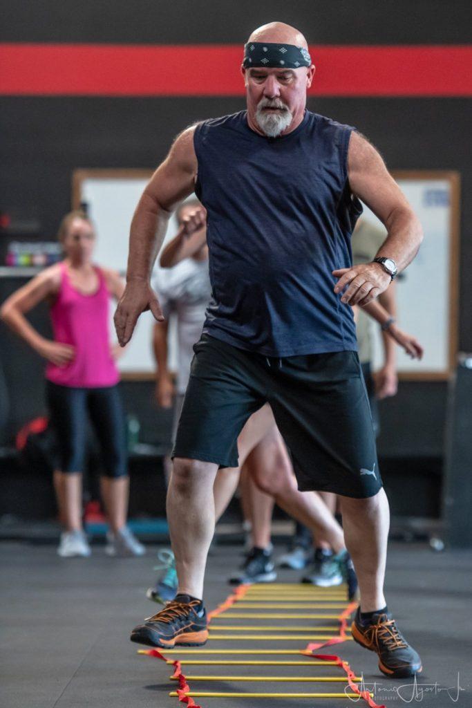 Wade Keach at CrossFit Roseville