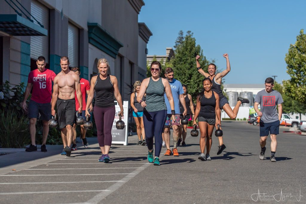 CrossFit Group Fitness Class Roseville Rocklin Lincoln CA 95678, 95747
