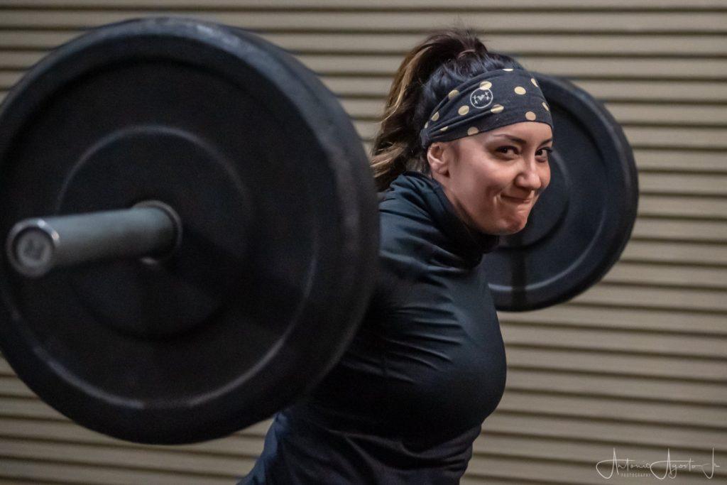 Haley Venturis at CrossFit Roseville