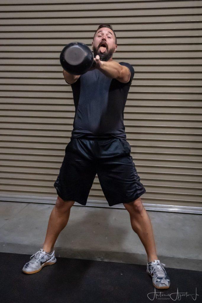 Kevin Kress at CrossFit Roseville