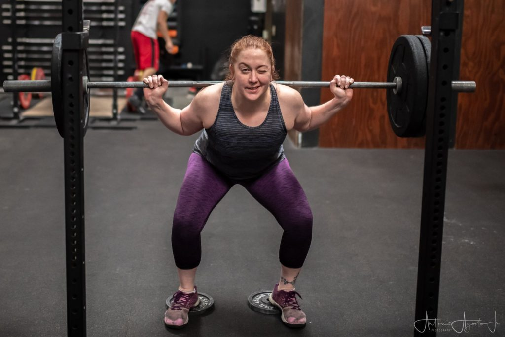 Mary Stack at CrossFit Roseville