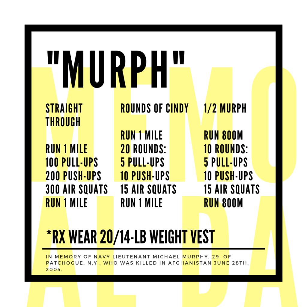 Murph Workout Variations